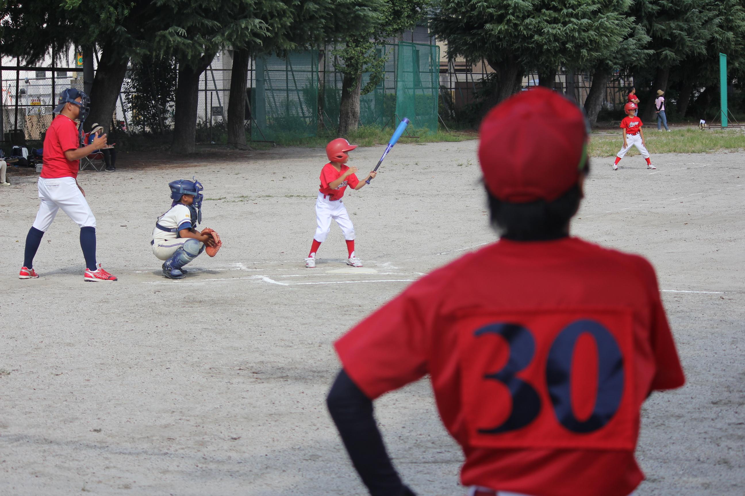 【野球の流れ】