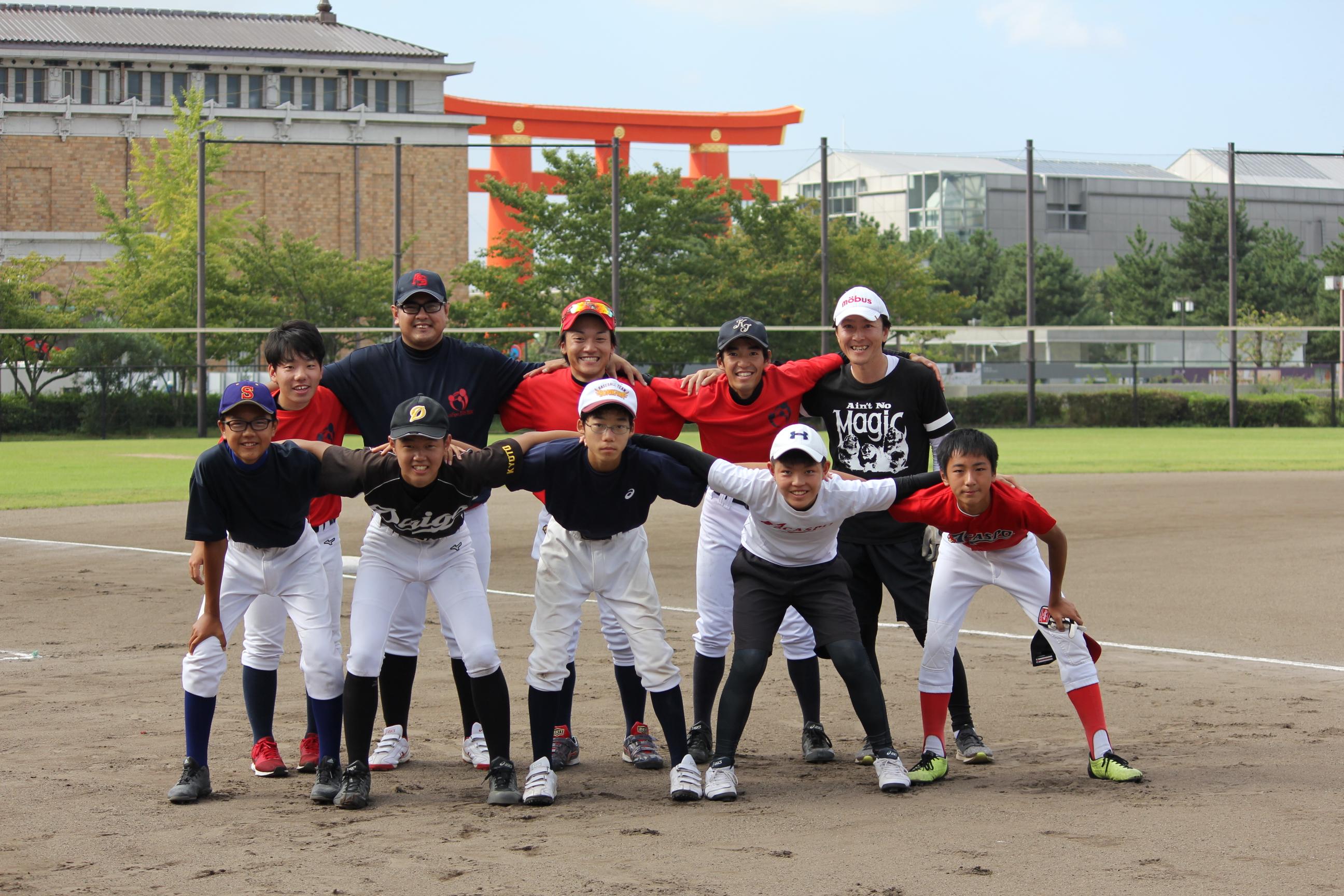 【アカスポ中学部 VS OB+コーチ陣試合】