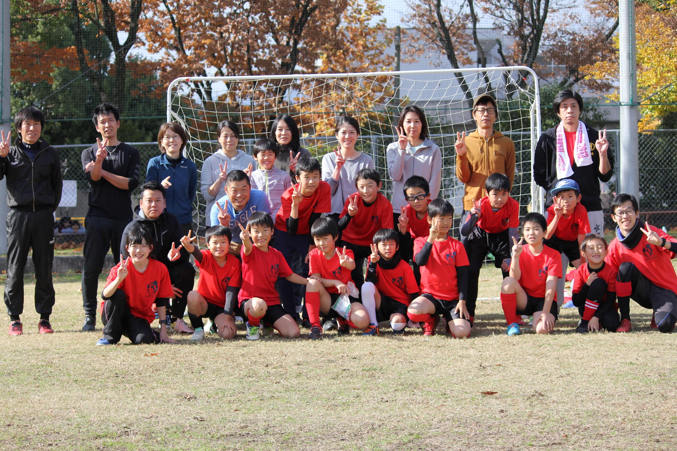 【笑顔溢れる 親子サッカー大会】