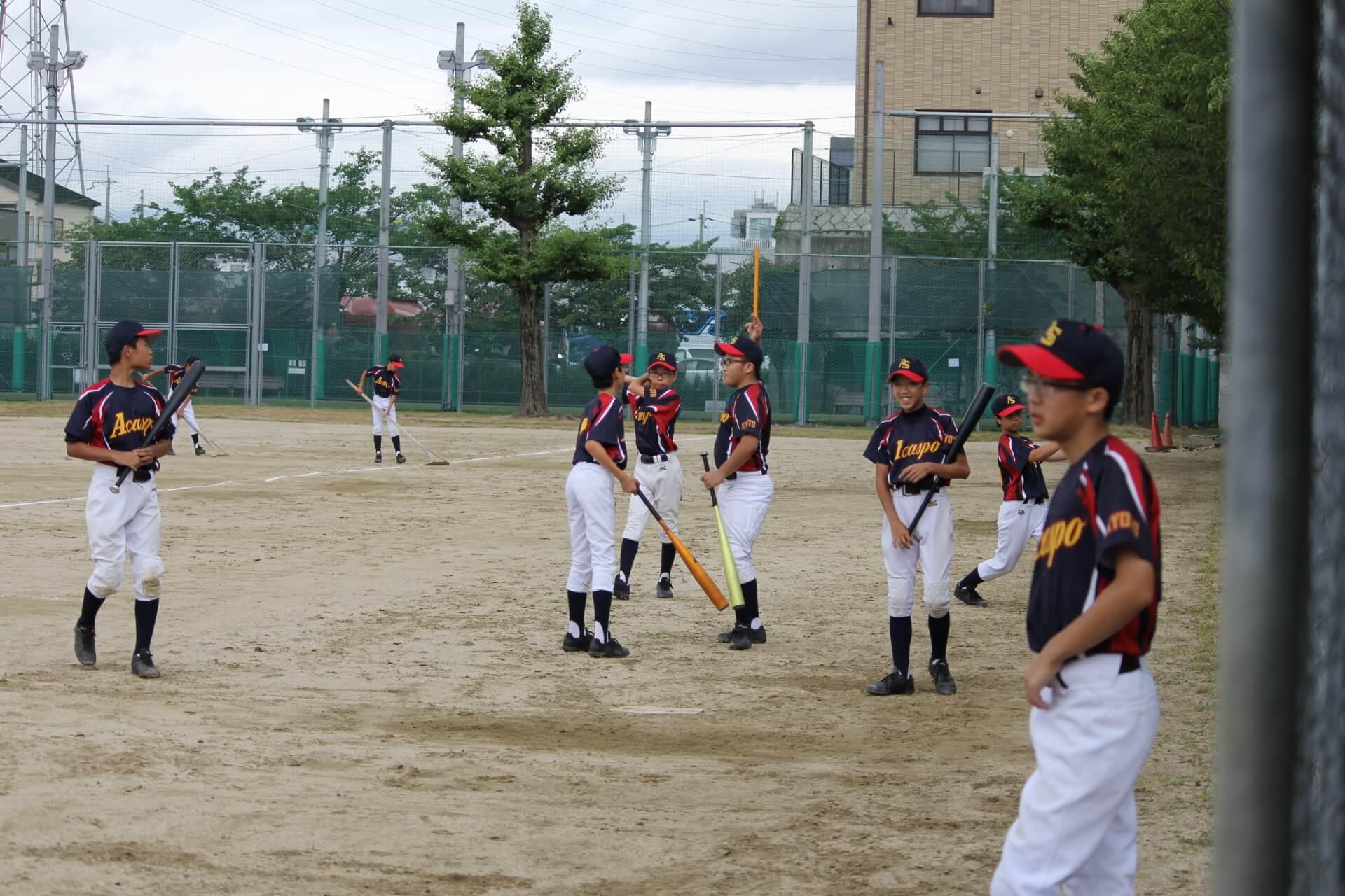 【野球に取り組む姿勢】