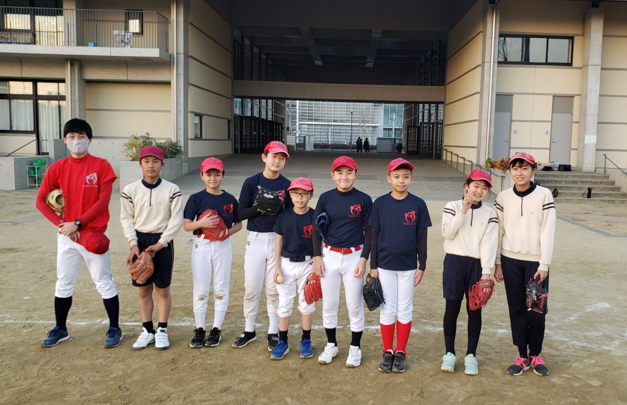 【野球S】洛南高等学校附属小学校 野球スクール