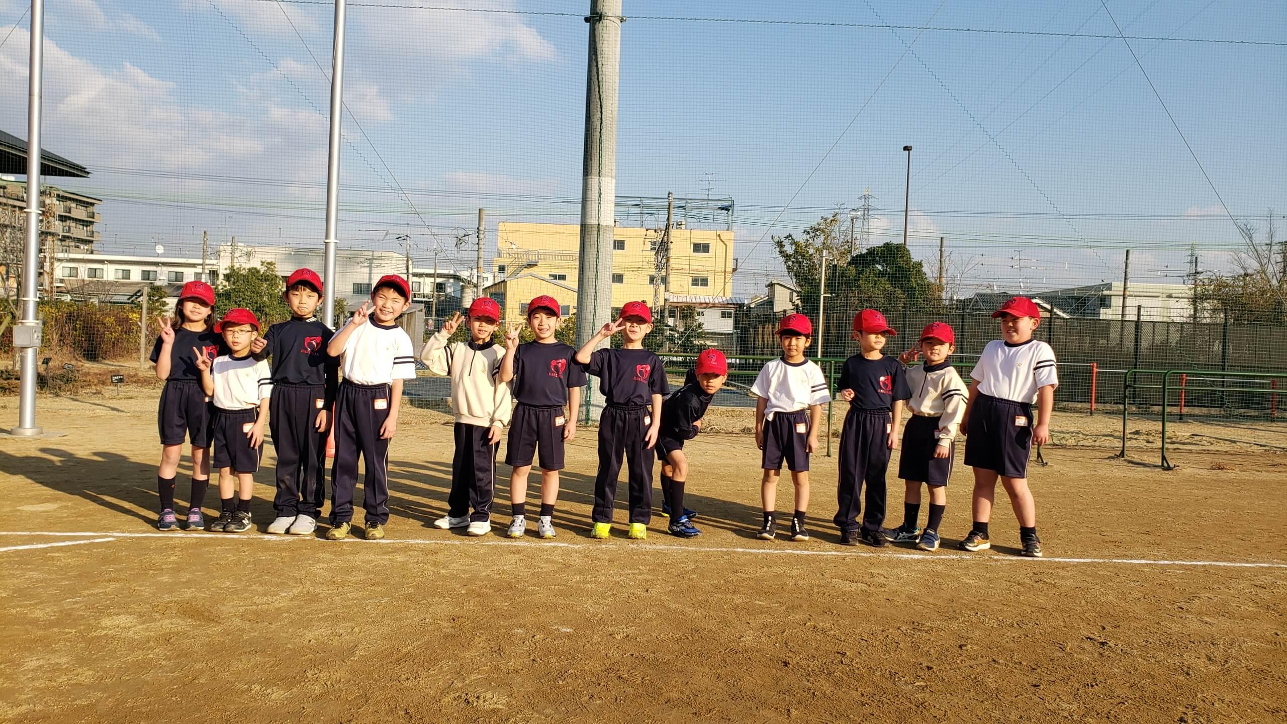 【洛南高等学校附属小学校 野球スクール】